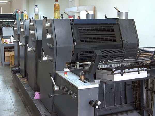 印刷厂设备有哪些
